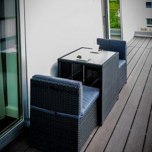 Hotel-Boardinghouse-Kreis-Residenz-Muenchen Balkon