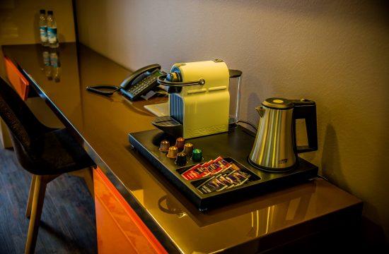 Hotel Boardinghouse Kreis Residenz Muenchen Nespresso