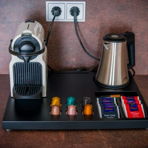 Hotel-Boardinghouse-Kreis-Residenz-Muenchen Nespresso Kaffeemaschine