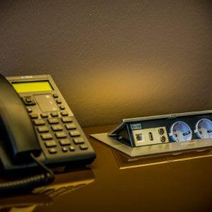 Hotel Boardinghouse Kreis Residenz Muenchen Telefon Schreibtisch