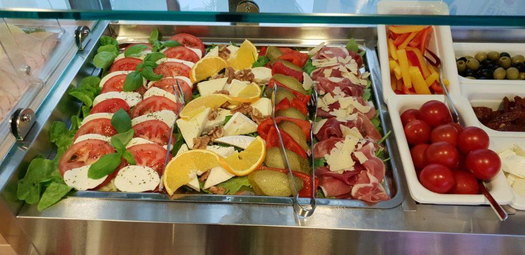 Italian breakfast in Munich Kreis Residenz
