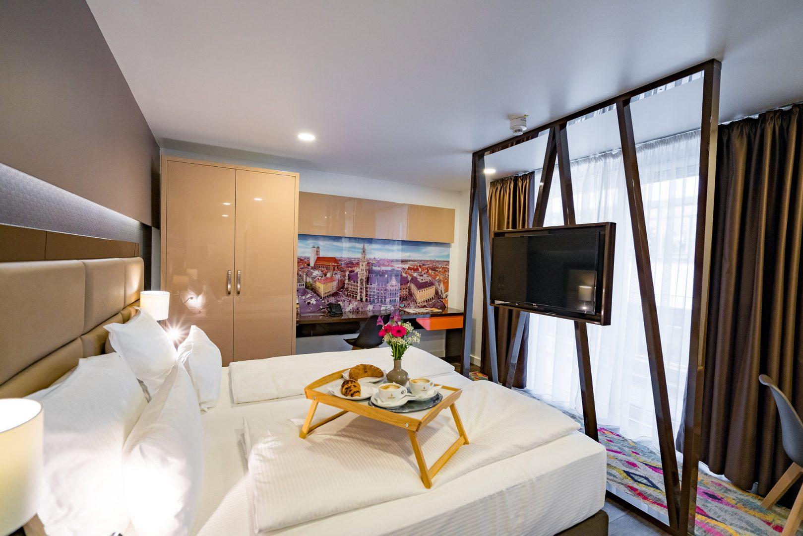 Modern room stay in Munich